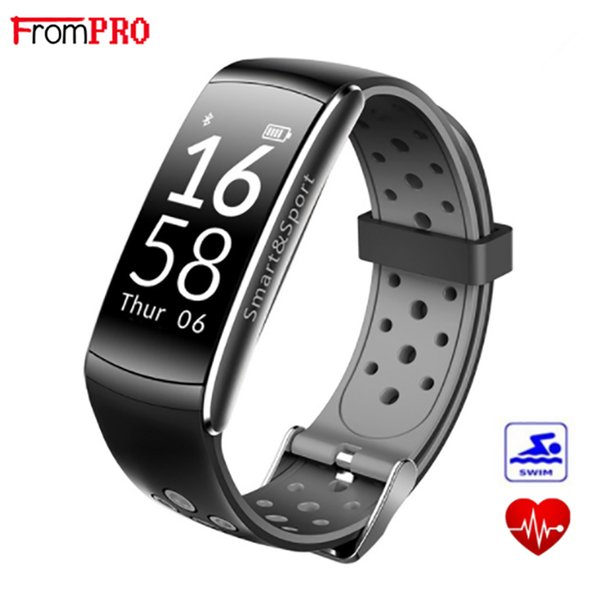 Smart Bracelet Q8 Smart band IP68 Waterproof Wristband Heart Rate Fitness tracker Step Calorie Wearable Devices Watch for androi