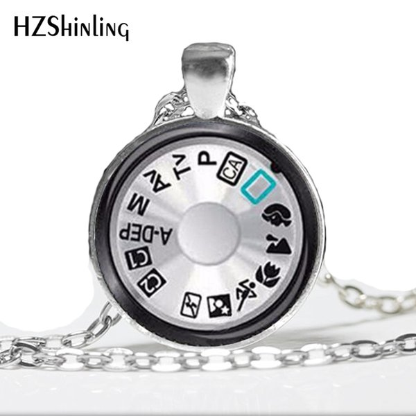 Vintage Camera Lens Necklace Camera Pendant Jewelry Photographer Gift Photographer Jewelry A-012 HZ1