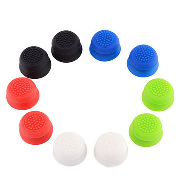 10 Pcs Silicone Analog Thumb Stick Grips Cover for Playstation 4 PS4 Pro Slim Controller Thumbstick Caps for Xbox One