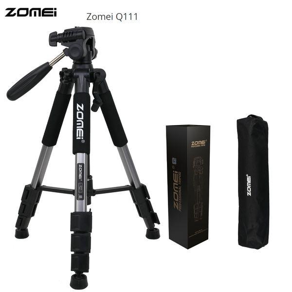 Großhandel Q111 56 Zoll leichte professionelle tragbare Kamera Stativ Reisen Aluminium Stativ