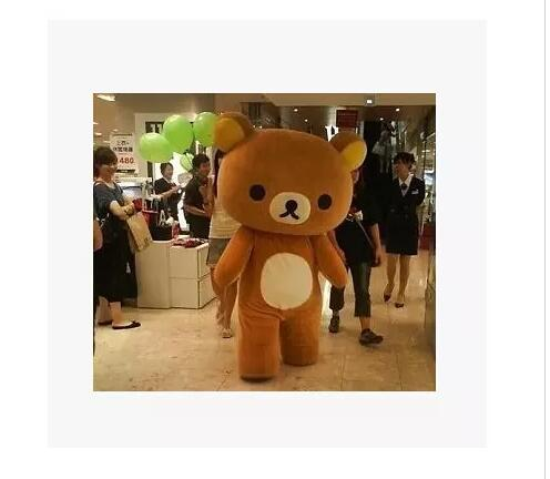 Big style Rilakkuma Mascot Costumes Rilakkuma Mascot Costumes Manufacturer & Supplier& Advertising dress&Exporter
