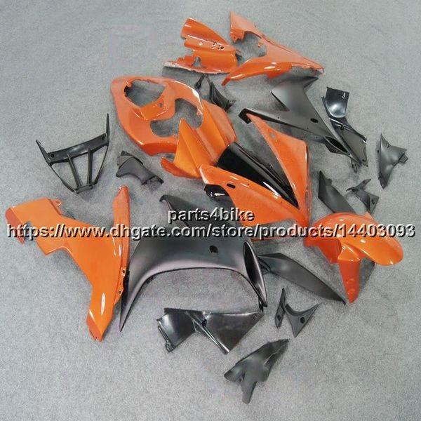 23colors + 5Gifts + laranja preto muitos esquema de pintura YZF-R1 04 05 06 YZF R1 2004 2006 2005 ABS Carenagem para yamaha Body Kit painéis de motocicleta
