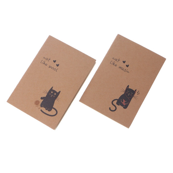 Mini Cute Cartoon Notebook Handy Pocket Notepad Brown Journals Diary 32 Pages