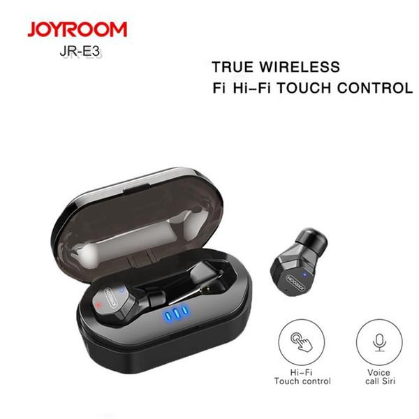Epacket доставка JOYROOM IPX7 водонепроницаемый Bluetooth наушники JR-E3 TWS мини беспроводные наушники с сенсорным управлением Hifi беспроводные наушники гарнитура