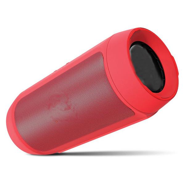 Şarj 2 + Taşınabilir Bluetooth Hoparlör Kablosuz ile iyi kalite Karışık Renkler Küçük Paket Ücretsiz Kargo ile