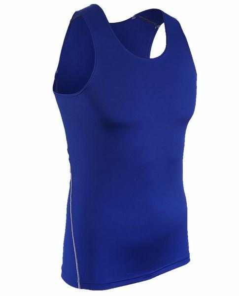 Bodybuilding Fitness Yoga Sleeveless Shirts Compression T-shirts Crossfit Men Gym Running Basketball Pro Short Shirts
