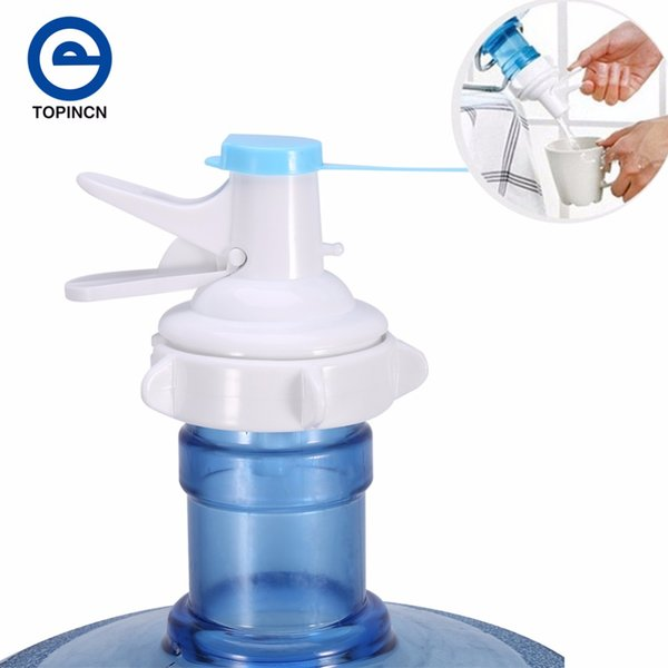 Bottled Water Dispenser Pump PP Water Bottle Dispenser For Sport Drinking Bottle Camping With Dustproof Cap