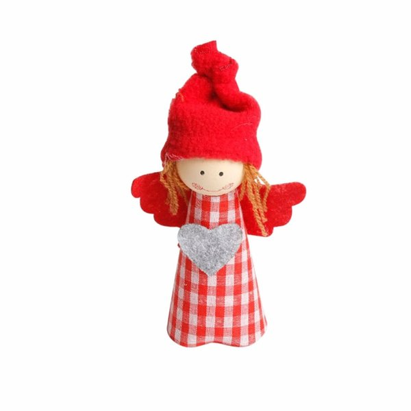 Christmas Angel Doll Hanging Ornaments Home Decor Christmas Tree Decorations Window Pendants Toys Gift Festival Supplies