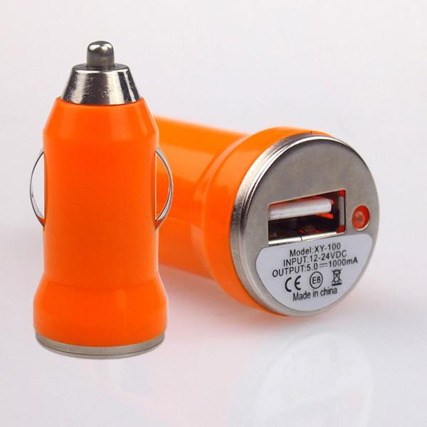 Taşınabilir Mini Araba Oto Şarj USB Adaptörü Için Pratik Ipod Iphone Cep Apple iPhone iPad iPod için Samsung Galaxy Motorola Droid Nokia Htc