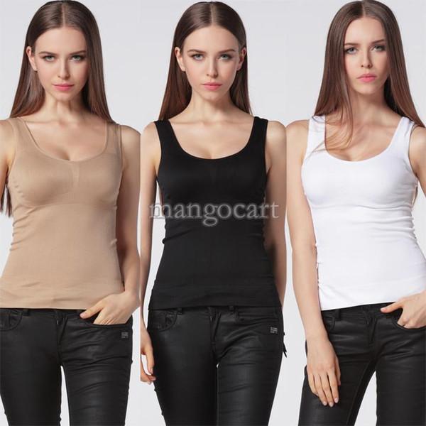 Women's Body Slimming Camisole Shaper Underwear Shapewear Vest 41