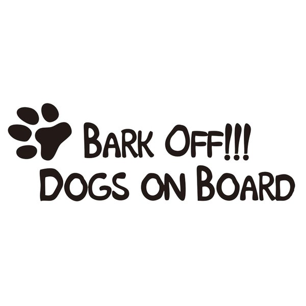 Hunde an Bord lustige Hund Aufkleber Art Malerei Wand Aufkleber Vinyl Dekor Decals Charakter