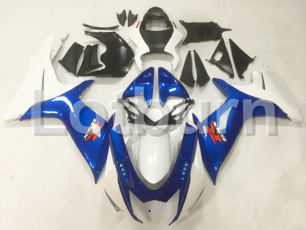 Motorcycle Fairing Kit Fit For Suzuki GSXR GSX-R 600 750 GSXR600 GSXR750 2011-2016 11 - 16 K11 Fairings kit High Quality ABS Plastic