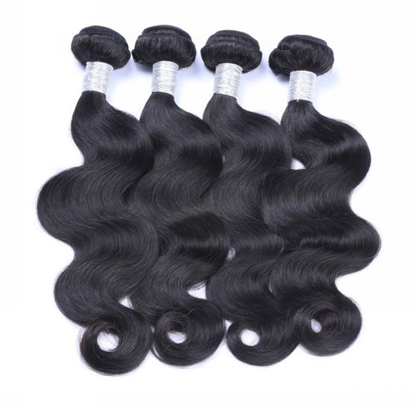 Great 9A Brazilian Hair Unprocessed Human Bundles 3/4 Pieces Lot Brazilian Body Wave Remy Human Hair Extensions Weaves