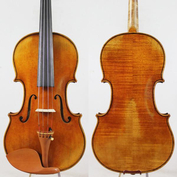 "top popular Special offer!!!Copy Antonio Stradivari 4 4 Violin violino""All European Wood"" M7086 Free Shipping!Professional Sound! 2021"