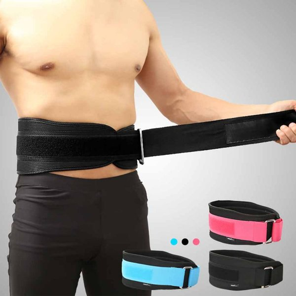 Fitness Protector Belt Weight Lifting Nylon EVA Weightlifting Squat Belt Lower Back Support Gym Bodybuilding Squats Training