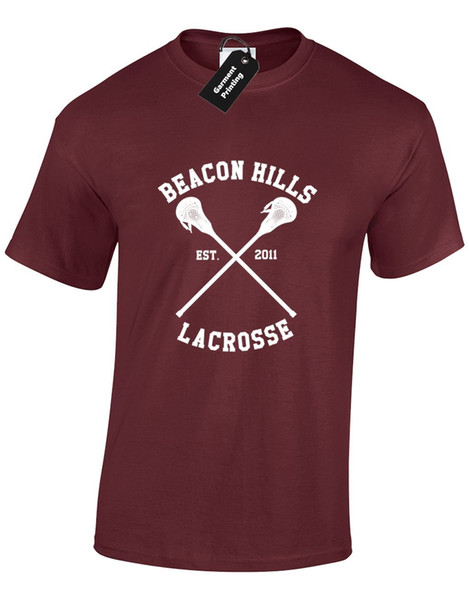 Details zu BEACON HILLS LACROSSE MENS T SHIRT TEEN WOLF STILINSKI STILES BUNDLE LAHEY TOP Funny free shipping Unisex Casual gift