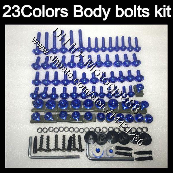 Verkleidung schrauben vollen schraube kit Für YAMAHA YZFR1 15 16 17 YZF R1 YZF 1000 YZF1000 YZF-R1 2015 2016 2017 Körper Muttern schrauben mutter bolzen kit 23 Farben