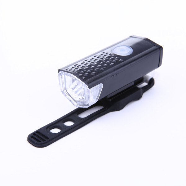 RAYPAL-2255 300 LM Super Bright LED Bike Light Cycling Headlamp 3 Mode USB Rechargeable LED Bicycle Light Flashlight