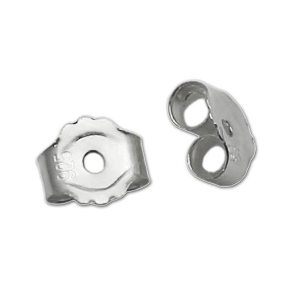 Beadsnice ID 25338 brinco porcas 925 sterling silver earring achados atacado earing fazendo acessórios brinco rolha de volta