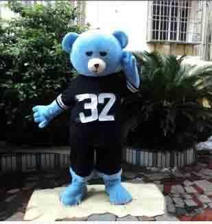 2018 Discount factory sale Teddy Bear of TED Adult Size Halloween Cartoon Mascot Costume Fancy Dress