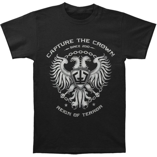 2018 New Summer Men Hot Sale Fashion Capture The Crown Men's Coat Of Arms T-shirt Size S To 3XLHipster Tee Shirt Homme