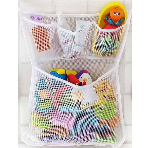 1 STÜCKE Bad Mesh Net Aufbewahrungstasche Baby Bad Badewanne Spielzeug Mesh Net Aufbewahrungstasche Organizer Halter Für Haus 53 * 41 cm