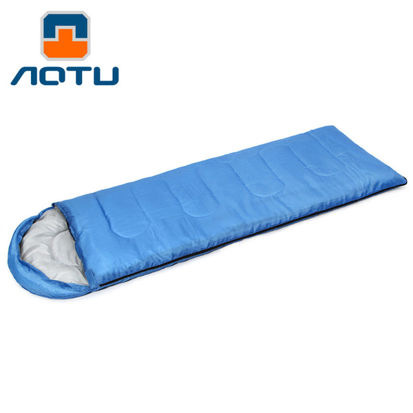 Adult Outdoor Camping Sleeping Bag Envelope Thick Filling Cotton Ultralight Portable Keep Warm Sleeping Bag HL0020