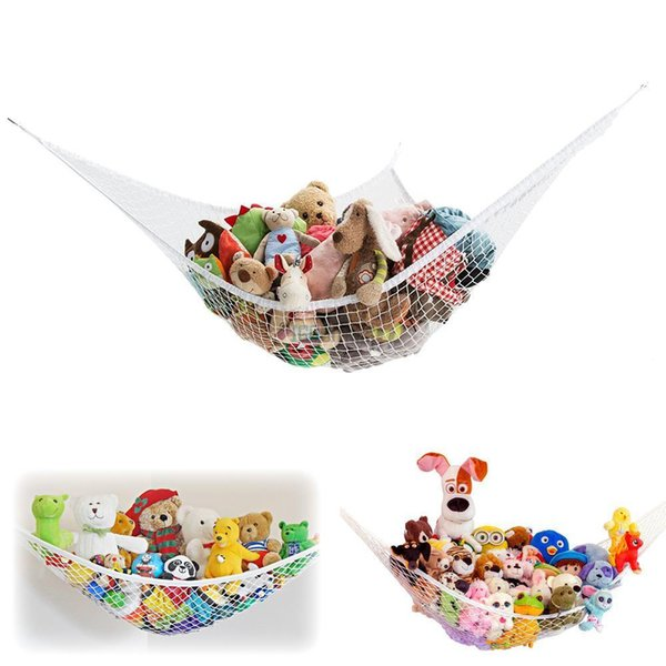 10PCS Large Size Kids Toy Corner Hammock Net Stuffed Jumbo Animals Organize Storage Organizer