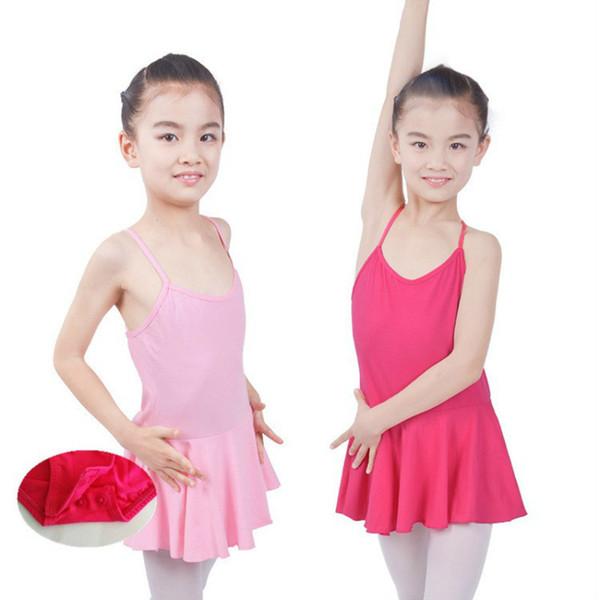 gymnastics leotard for girls ballet balett dress girl tutu dress kids cotton competition sleeveless dance children toddler lycra