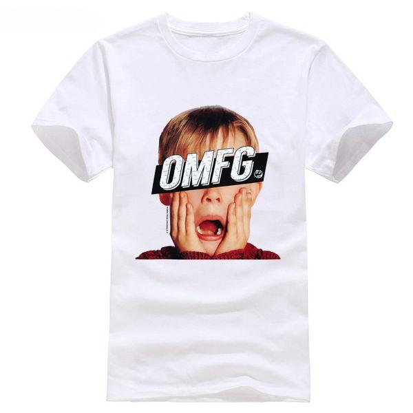 093056988 OMFG HOME ALONE CHRISTMAS RETRO NEW T SHIRT Indie Geek Disobey Tumblr Funny  Tee Cool xxxtentacion tshirt