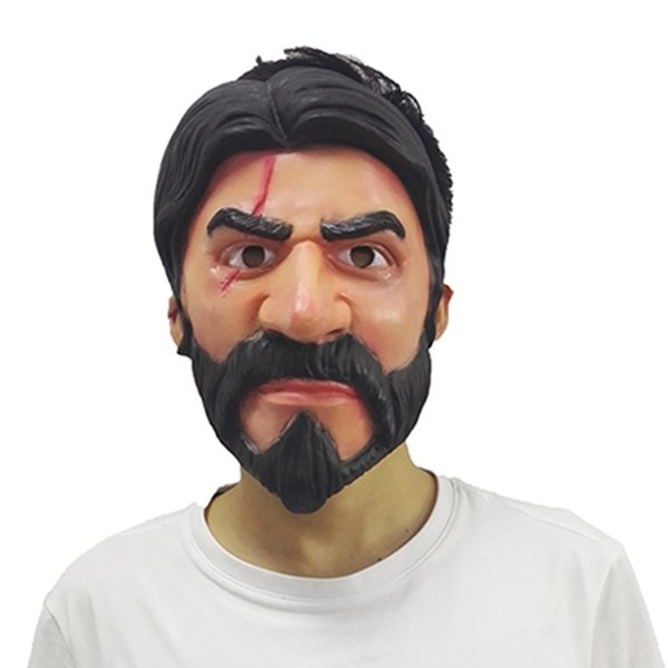 The Popular Game Fortress Night Mask Surrounds The Reaper with A Halloween Cos Party Costume