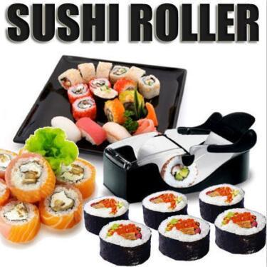 Sushi Roller Magic Roll Sushi Molds Maker Cutter Rollers Rolls Tool Household Perfect Roll-Sushi Kitchen Accessories CCA10194 70pcs