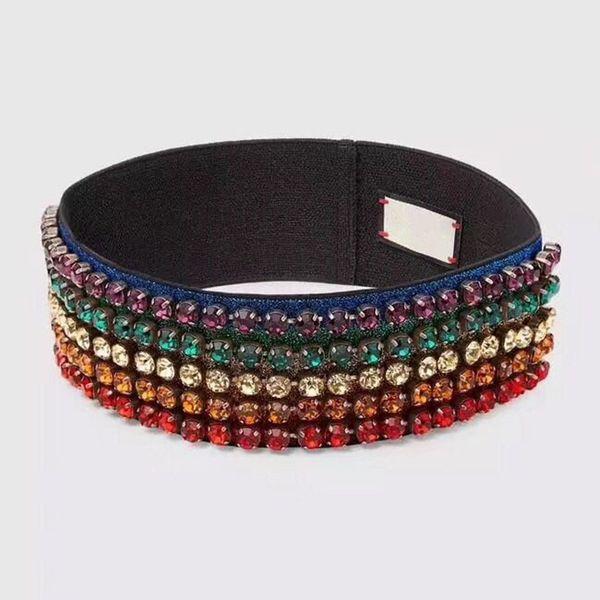 New Brand Women's Scarf Hot Designer Elastic Headband Hair Bands for Men and Women Best Quality