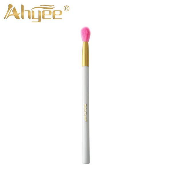 Pennelli professionali per ombretti Ombretto sfumato Ombretto Pennello per ciglia Strumento per trucco di alta qualità per le donne Rosa bianco