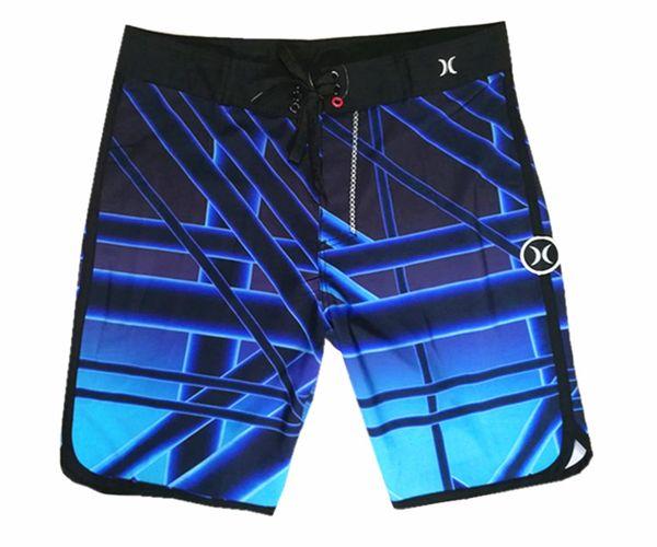 Elastic Fabric Fashion Loose Bermudas Shorts Mens Board Shorts Beachshorts Spandex Leisure Shorts Swim Trunks Swimwear Quick Dry Surf Pants