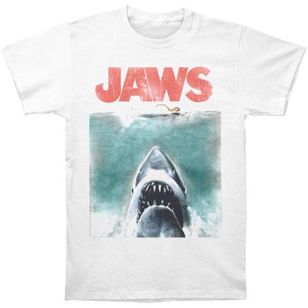 Das Vintage Plakat-T-Shirt der Kiefer-Männer weiß