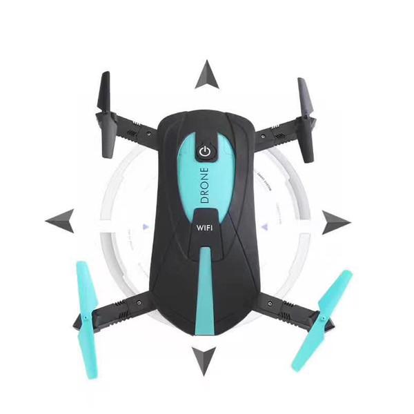Super Mini HD Wifi в режиме реального времени аэрофотосъемка складной игрушечный дрон без режима головы мобильный телефон Tablet App контроль силы тяжести