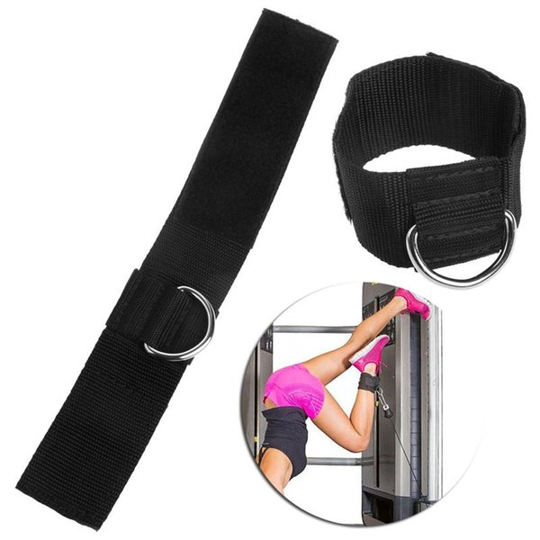 Ankle D-ring Strap Legs Training Protector Ankle Buckle Sport Gauges Multi Gym Cable Attachment Thigh Leg Pulley Weight Lifting