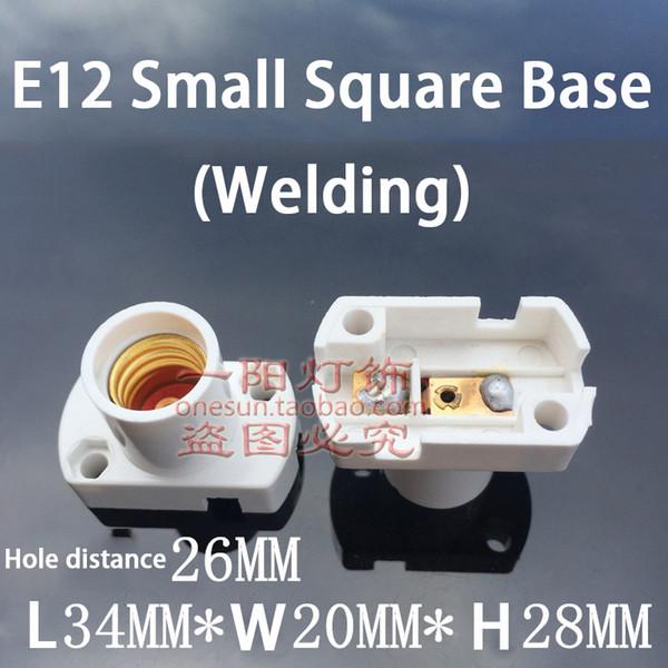 E12 White Square Base (Welding)