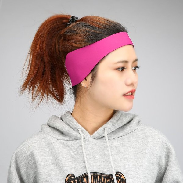 1pc Neoprene Fitness Yoga Hair Bands Waterproof Swimming Gear Ear Hair Band Bathing Water Protective Head Band S/L Size Options