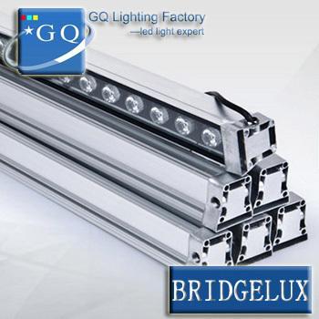 6pc / lot Fedex DHL DMX512 Rot Grün Blau warmweiß 15 Watt RGB LED Wall Washer lampen wand waschen Licht 15 Watt landschaft beleuchtung