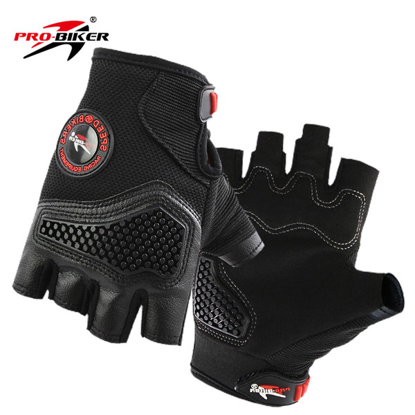 2018 summer Breathable leather motorcycle gloves/ racing gloves/ motocross riding gloves/ Outdoor sports Gloves Half finger gloves