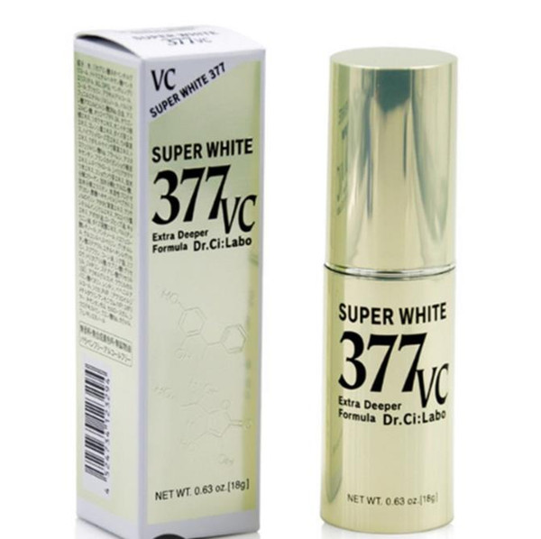 top popular Japan Brand Super White 377 VC Extra Deeper Formula Essence Skin care Serums 18g 2021