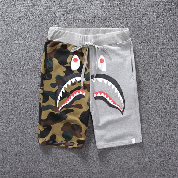 Designer de luxe shorts été mens shorts de planche à roulettes shorts pantalon longueur animal imprimé Type de fermeture vêtements cordon taille mi