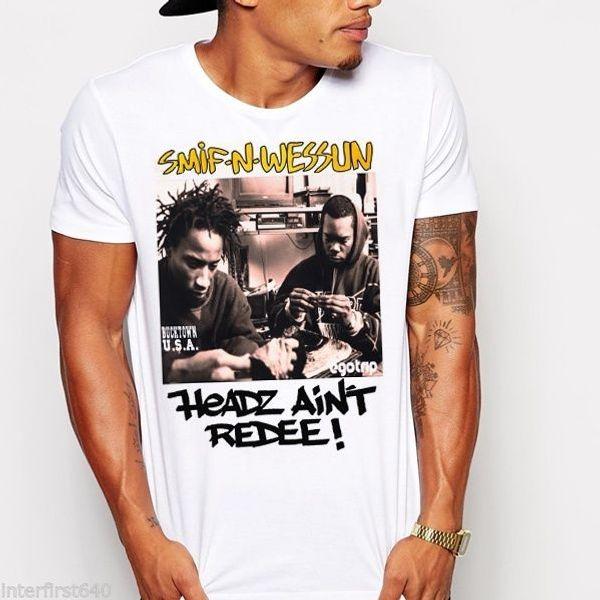 90's rap music T-shirt urban boom bap East Coast West Coast hip hop big pun new T-Shirt Casual Short Sleeve For Men Clothing Summer