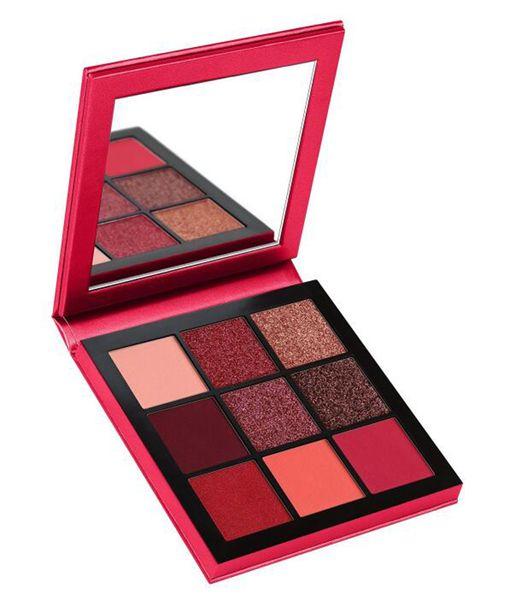 2018 nueva marca de maquillaje Beauty Palette 9 colores mini paleta de sombras de ojos 5 Colores de estrellas estilo Sombra de ojos Topaz Amatista Rubí Esmeralda Zafiro