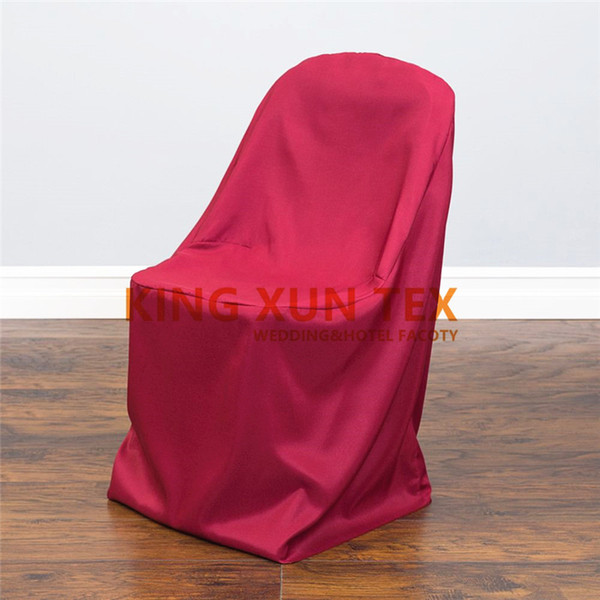 Prime 100 Polyester Folding Chair Cover For Banquet Wedding Decoration Rent Tablecloths And Chair Covers Slipcover For Recliner Couch From Kingxuntex Camellatalisay Diy Chair Ideas Camellatalisaycom