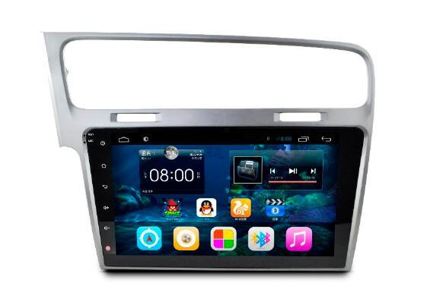 10,2 Zoll Android 6.0 Auto DVD Gps Navi Audio für VOLKSWAGEN GOLF 7 Golf7 1024 * 600 OBD1GB Wifi 3G Unterstützung Original Lenkrad