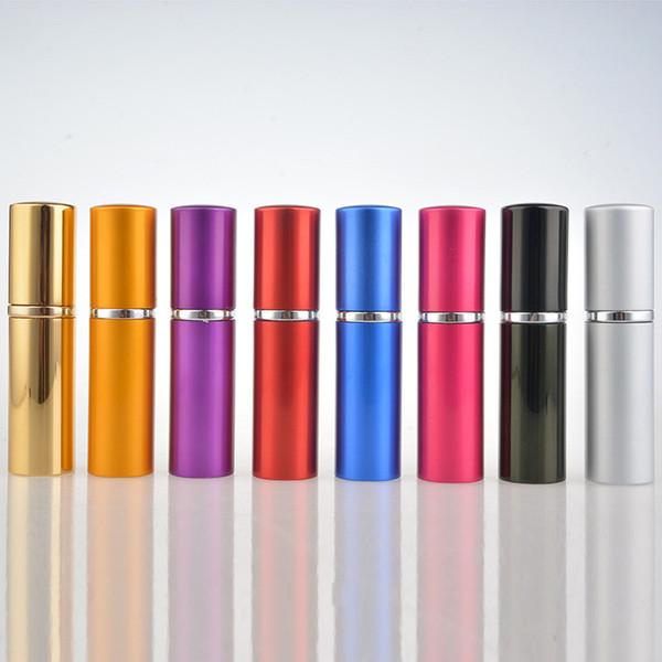 10ml Aluminum glass bottle 10ML Gift Perfume Bottles High Quality Refillable Mini Perfume Atomizer Sprayer Bottle Home Fragrances