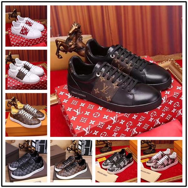 Italien Luxus Freizeitschuhe Farbabstimmung Reißverschluss Männer und Frauen Low Top Flache Schuhe Aus Echtem Leder Herren Schuhe Designer Turnschuhe Trainer